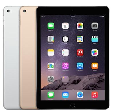 "APPLE IPAD Air  2 - 64GB Wifi 4G Nero-Grigio Siderale WiFi 9.7"" Retina Bluetooth Webcam - MGH2TY/A  A1567"