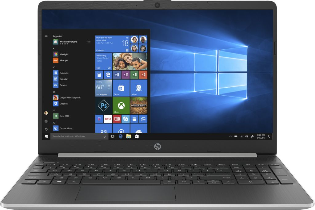 "HP Notebook 15-dy1016nl Core I7-1065g7 1.3 Ghz 8GB 512 GB SSD  Webcam 15.6"" Win 10 Home - H3007201G"
