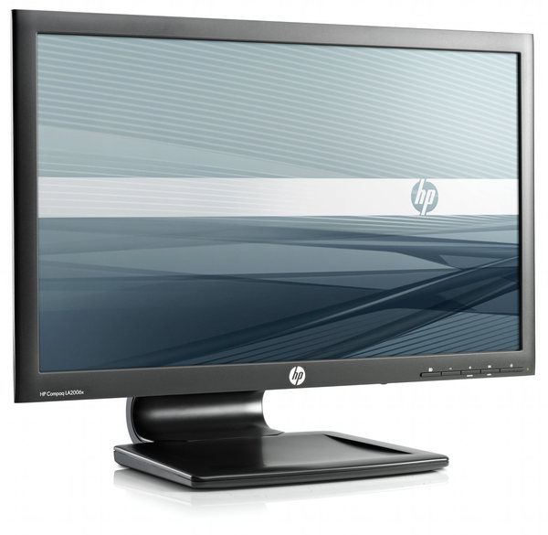 "Monitor LCD HP LA2006x 20"" LED VGA/DVI/DISPLAY PORT 16:9 - HPLCD20""LED"