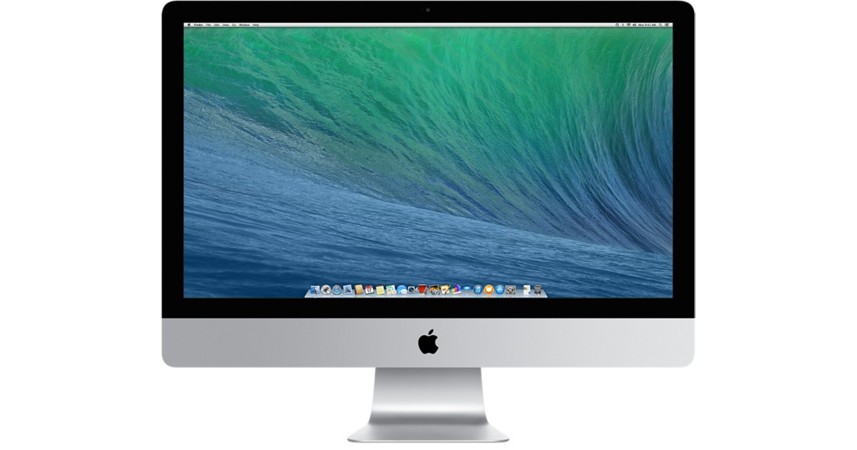 "Apple iMac IPS  21.5"" Core I5-4260V  1.4 Ghz - 8GB -500GB - Intel HD 500 - Mac OS Sierra 10.13.3 - Imac A1418"