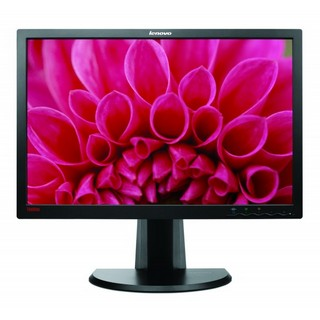 "Monitor LCD Lenovo 24"" LT2452pwC Wide Led Monitor DVI/VGA/display Port Multimediale"