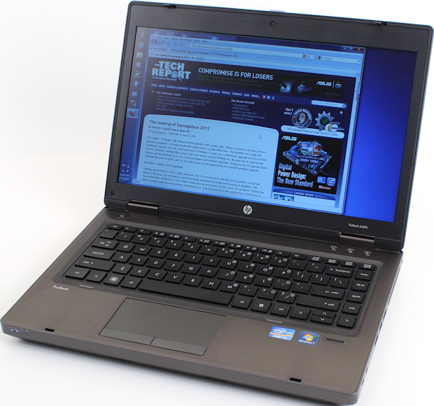 "HP Probook 6460b Core I5-2520M 2.5Ghz 4GB 320GB DVD/RW 14.1""  Webcam Win 7 Home premium - H2404182"