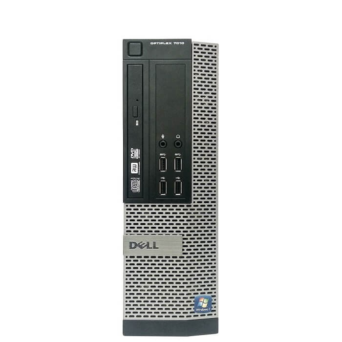 DELL Optiplex 7010 SFF Core I7-3770 3.4 Ghz 4GB 500GB DVD/RW  Win 10 Pro - D0312191S