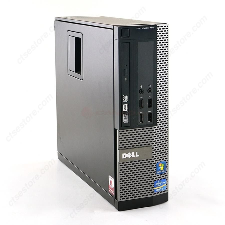 DELL Optiplex 790 SFF  Core I3-2120 3.3 Ghz 4GB 250GB DVD/RW Win7 - D0907182