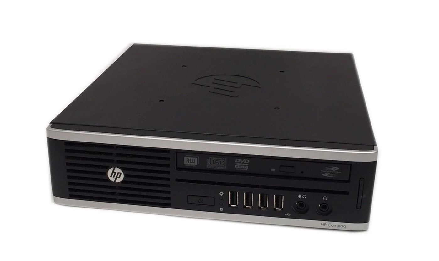 HP 8300 Elite Sff  USDT Core I5-3470S 2.9 Ghz 4GB 320 GB DVD/RW  Win7 Pro - H2603181