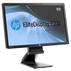 "Monitor LCD HP Elitedisplay E231 23"" Wide VGA/DVI/Displayport  Full HD"