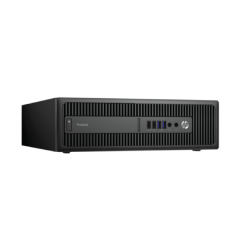 HP Prodesk 600 G1 SFF  Intel Core I3-4130 3.4 Ghz 4GB 500GB DVD/RW Win10 Pro - H2401192S