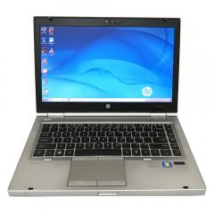 "HP Elitebook 8460p Core I7-2640M 2.8 Ghz 4GB 240GB SSD Webcam DVD/RW 14.1"" Win10 Pro - H0704211W"