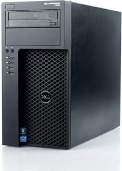 Dell Workstation Precision T1650 Core I7-3770 3.4 Ghz 8GB  500GB  DVD/RW Nvidia Quadro 2000 1GB Win 10 Pro - D1801213W