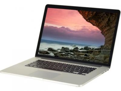 "Apple MacBook Pro Retina Core I7-3615QM  2.3 Ghz 8GB SSD 256GB SSD LCD Retina 15.4"" - MC975LL"
